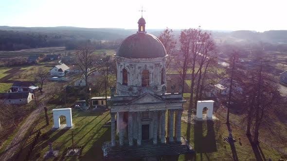 Thumbnail for Roman Catholic Church Aerial, Ukraine