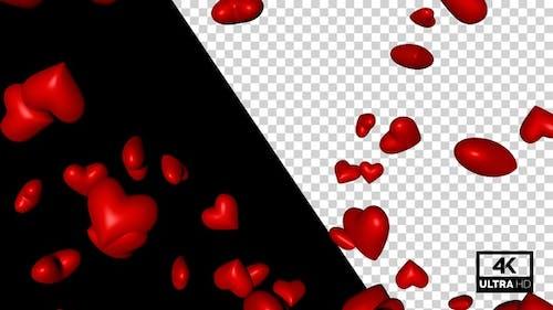 Randomly Flying Heart V3