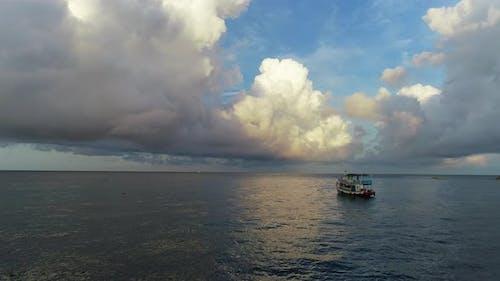 Big Clouds In The Blue Sky.