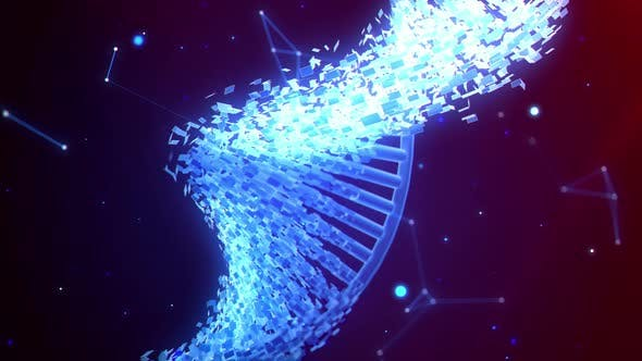Thumbnail for DNA Helix Strand