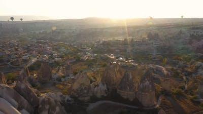Amazing Cappadocia Landscape on a Sunny Day