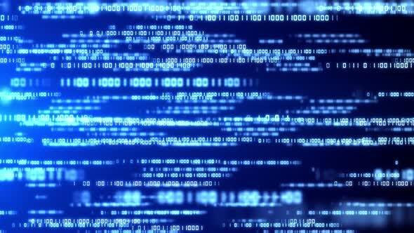 Code Binary Background