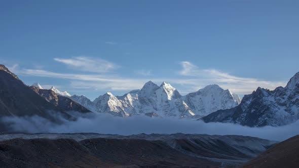 Thumbnail for Kangtega and Thamserku Mountains. Himalaya, Nepal