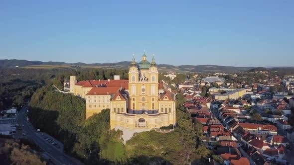 Thumbnail for Aerial View of Melk Abbey, Austria