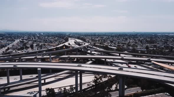 Thumbnail for Complex Judge Pregerson Freeway Intersection in Los Angeles