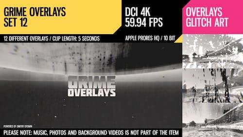Grime Overlays (4K Set 12)