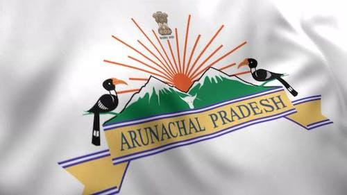 Arunachal Pradesh Flag - 4K