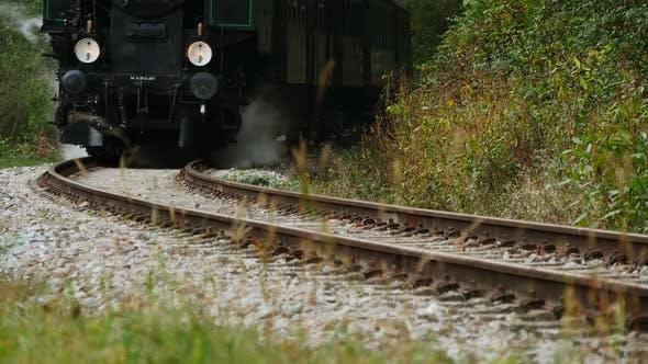 Thumbnail for Steam Engine Locomotive Train Retro Vintage Background