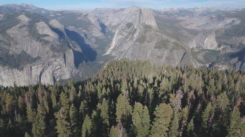 Luftaufnahme des Yosemite-Nationalparks, Kalifornien, USA