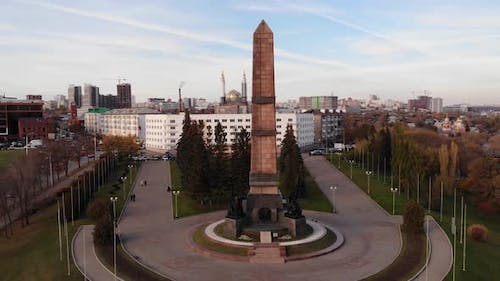 Monument of Friendship-a monument in the city of Ufa.