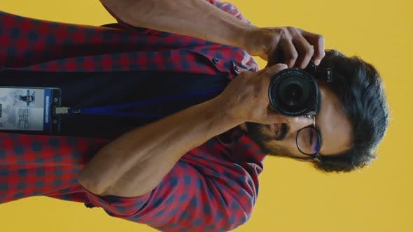 Thumbnail for Young Photographer with Camera