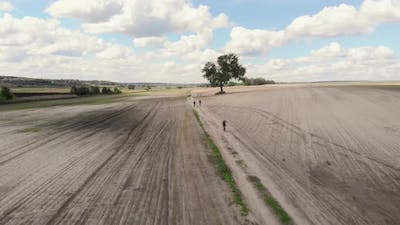 Gravel Cycling. Offroad Cycling