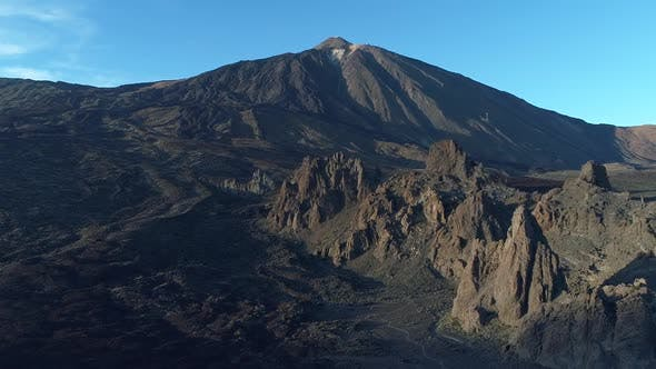Thumbnail for El Teide at Sunset