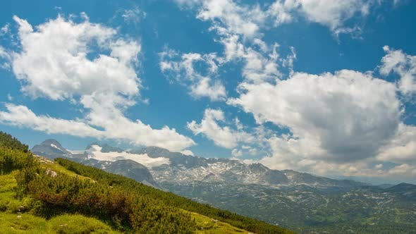 Thumbnail for Clouds over the Alps