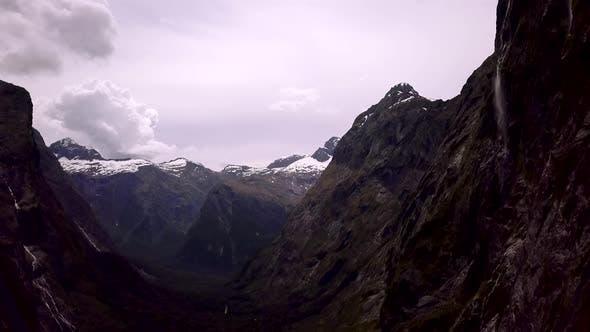 Fjordland-Landschaft