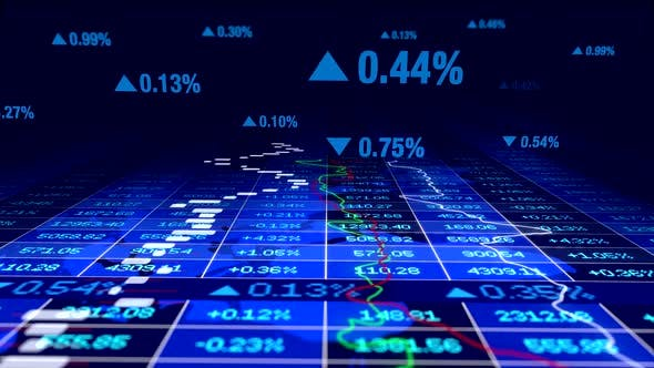 Thumbnail for Stock Exchange Corporate Business Data Numbers Infographic