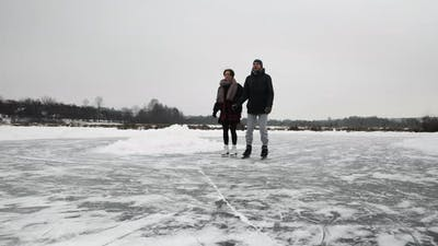 Ice Skating Friends