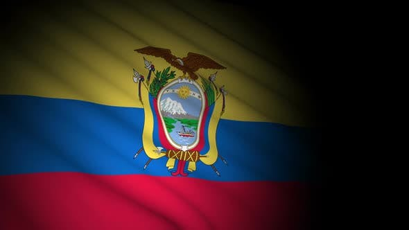 Thumbnail for Ecuador Flag Blowing in Wind