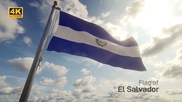 Thumbnail for El Salvador Flag on a Flagpole