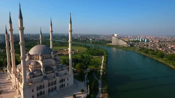 Thumbnail for Islamic Cityscape View Of Adana City And Seyhan River, Turkey