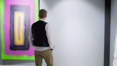 Auf der Ausstellung für zeitgenössische Kunst