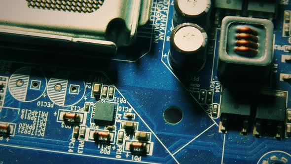 Thumbnail for Motherboard Hardware Electronic Technology Macro View 10