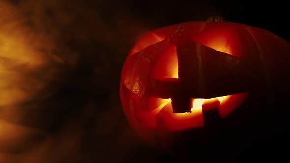 Thumbnail for Scary Old Jack-o-Lantern