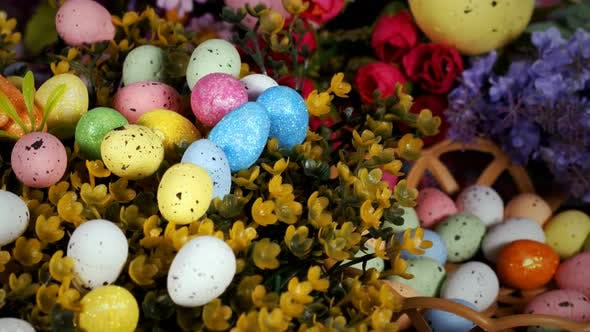 Thumbnail for Colorful Traditional Celebration Easter Paschal Eggs 35