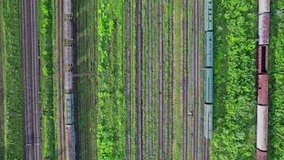 Cargo Railway Carriage