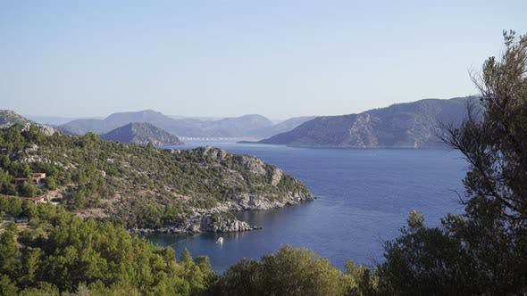 Thumbnail for Fascinating Mountain View Of The Aegean Sea