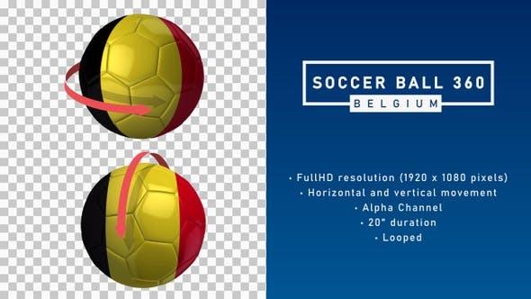 Soccer Ball 360º - Belgium