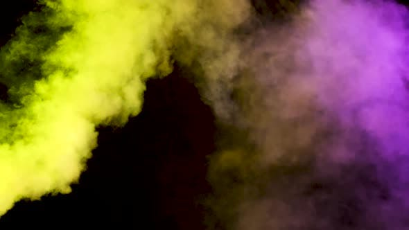 Thumbnail for Beautiful Colorful Abstract Smoke Clouds
