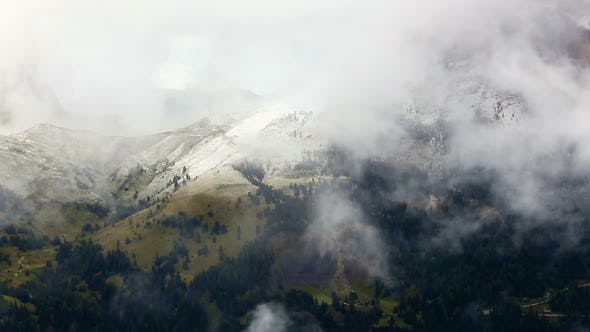 Thumbnail for Clouds Covered Mountains