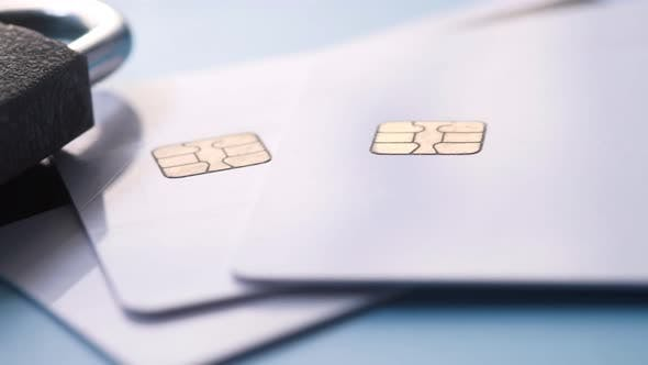 Thumbnail for Padlock on Credit Card, Internet Data Privacy Information Security Concept