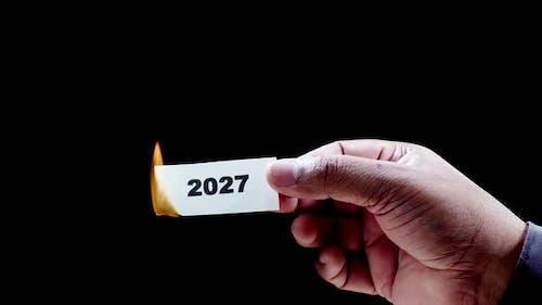 Burning Paper Writing Year 2027