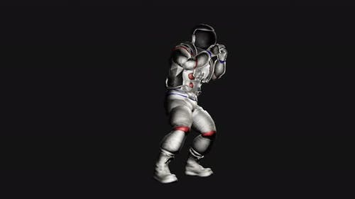 Astronaut Silly Dancing