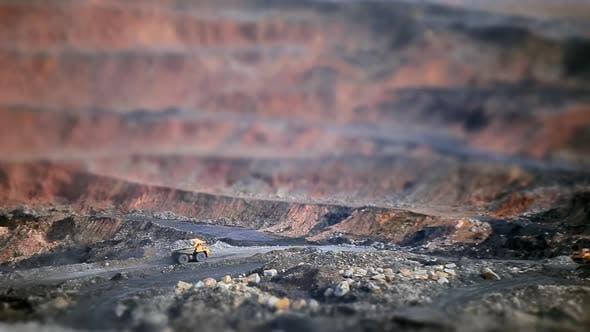 Thumbnail for Tilt-shift Open Coal Pit