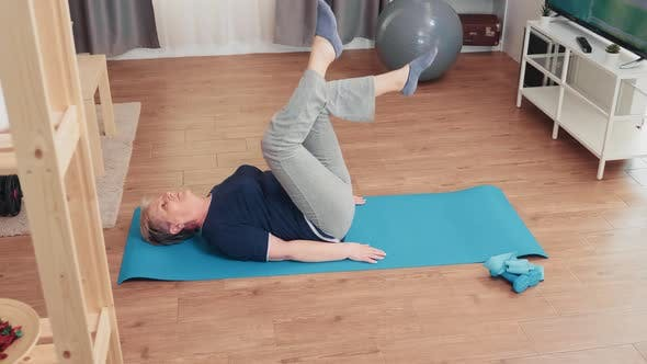 Thumbnail for Elderly Age Woman Exercising