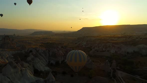 Thumbnail for Balloons Flying Over The Valley