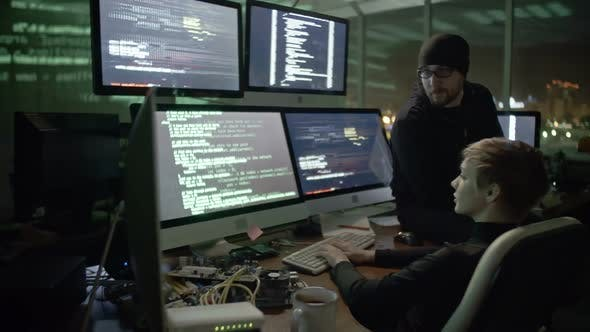 Thumbnail for Hackers Crippling Cyber Attack
