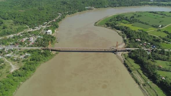 Thumbnail for Bridge Over River. Philippines, Luzon
