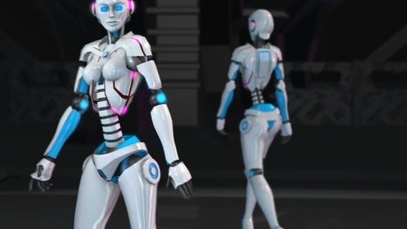 Thumbnail for Sexy Robot Catwalk