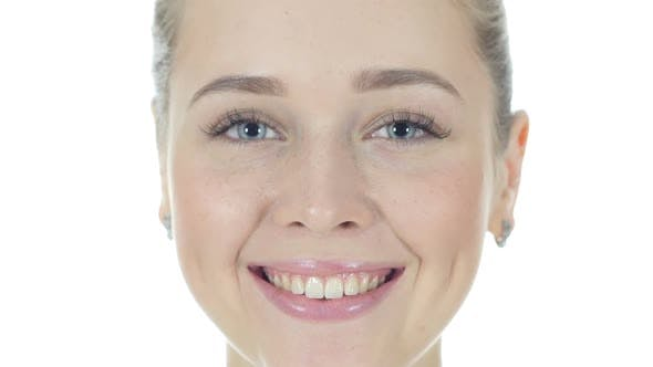 Cover Image for Smiling Beautiful Woman Face