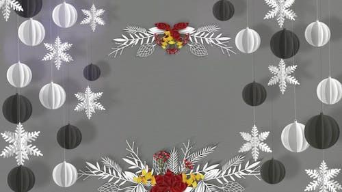 Christmas Paper Art
