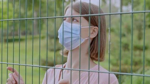Traveler at the Border Covid Quarantine Closed