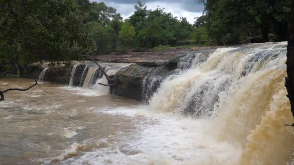 Thumbnail for Waterfall at the Farako falls in Mali