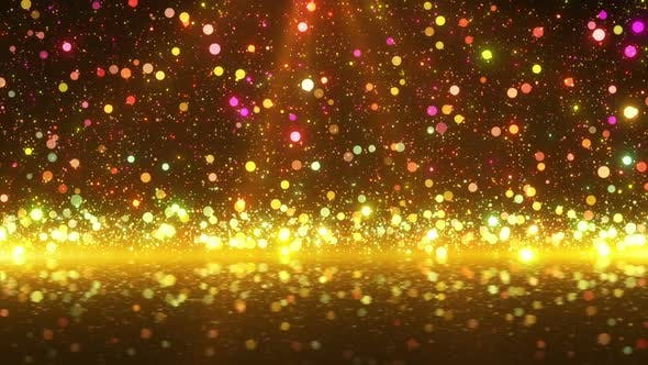 Glitter Particles 4K