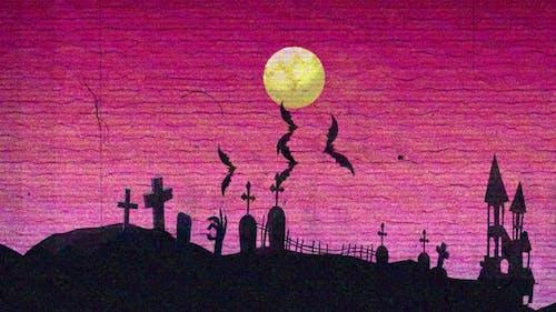 4K - Halloween-Backround