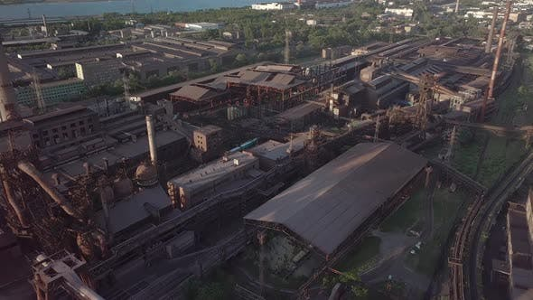 Thumbnail for Aerial View of Metallurgical Plant