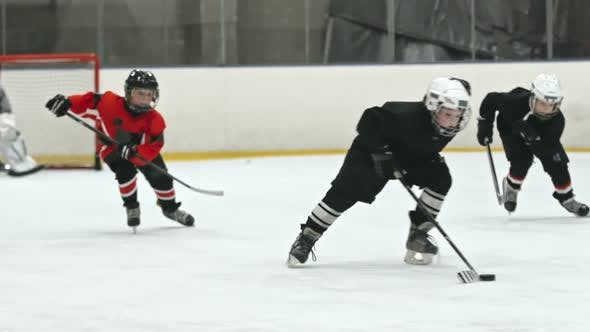 Cover Image for Novice Players Fighting for Puck